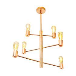 LED거실등 크로나6등 PD(로즈골드)