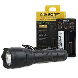 LED 후레쉬 세트 DE20-K2 321 2000루멘 CH1409229