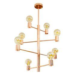 LED거실등 크로나8등 직부(로즈골드)