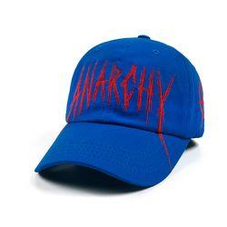 ANARCHY BASEBALL CAP BLUE