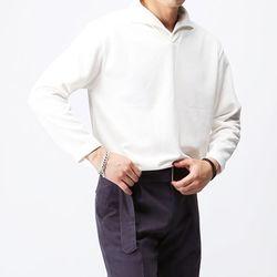 [매트블랙] 트로이 헨리 카라 티셔츠