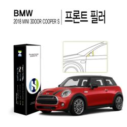 BMW 미니 2018 3도어 쿠퍼 S 프론트 필러 보호필름2매