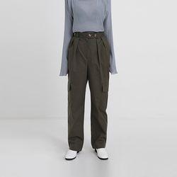cotton cargo pants (2colors)