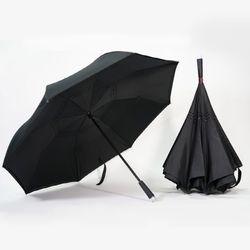 LED 반대로 거꾸로 2단 반전 기발한 우산