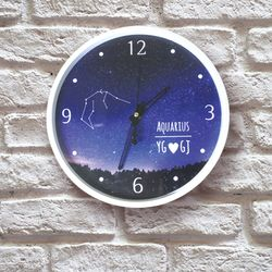 별자리 이니셜 DIY 벽시계
