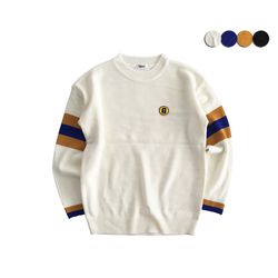 G SLEEVE POINT SWEATER(4COLOR)(UNISEX)