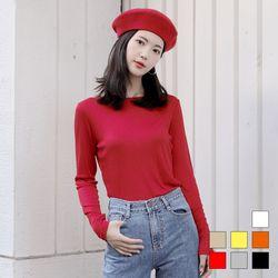 2296 코나 슬림 긴팔 티셔츠 (7colors)