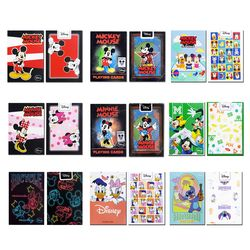 JLCC 디즈니 미키마우스 미니마우스 캐릭터 덱 플레이 카드 9종