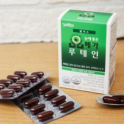 [웰러스] 눈에 좋은 오메가루테인 30캡슐1박스  (1개월분)