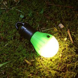 휴대용 캠핑랜턴 건전지 LED전구 3W