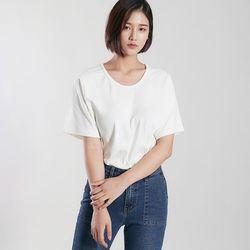 [로코식스] 이브 라운드 티셔츠