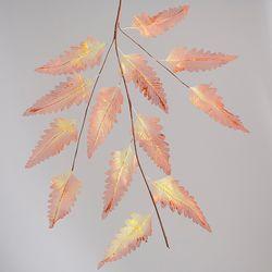 반짝이 나뭇잎 가지