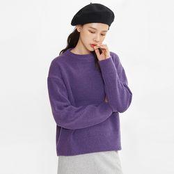 cozy round knit