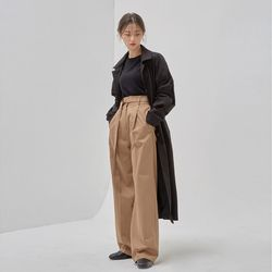haze single trench coat