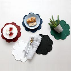 실리콘 쁘띠플뢰르 오마주 냄비받침 테이블매트