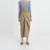 twist strap cotton skirt (2colors)