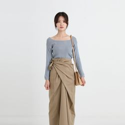 square thin knit (6colors)