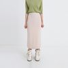 soft texture knit long skirt (5colors)