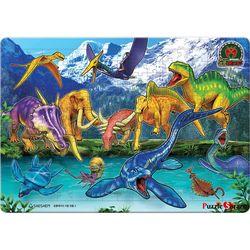195조각 판퍼즐  공룡메카드