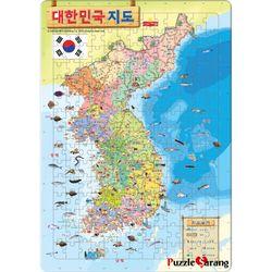 195조각 판퍼즐  대한민국 지도