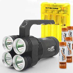 LED 써치라이트 세트 4E85L-Q4Y 224 손전등 8500루멘