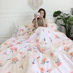 다홍동백꽃 가을침구세트 Q