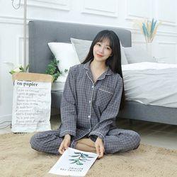 [엔비] E. 라붐 면잠옷 긴팔잠옷