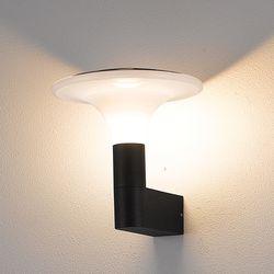 포포엘벽등 (방수등) A타입 블랙 + LED내장형