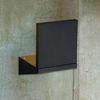 투스퀘어벽등 (방수등) (화이트 블랙) + LED내장형