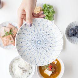 아미 원형접시 16cm JAPAN
