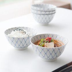 아미 밥공기 국그릇 1인세트 JAPAN