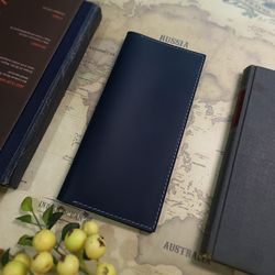 Passport Folder. Deluxe [Prussian Blue]