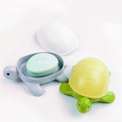 거북이 2색 비누받침대