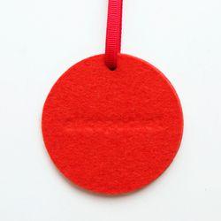 앨리스포켓 천연양모 방향제 - 오렌지 원형 (리필2ml set)