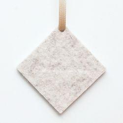 앨리스포켓 천연양모 방향제 - 오트밀 사각형 (리필2ml set)