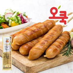 [무료배송] 꼬치형 닭가슴살 핫바 20+2팩