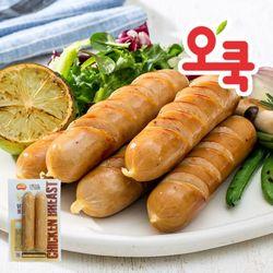 [무료배송] 간편한 닭가슴살 소시지큐브 15+1팩