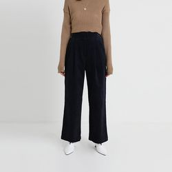 basic corduroy wide pants (3colors)