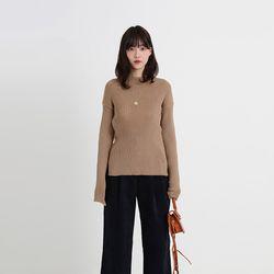 double slim golgi loose knit  (3colors)