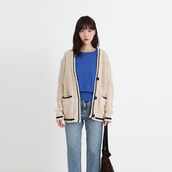 bread knit cardigan (3colors)