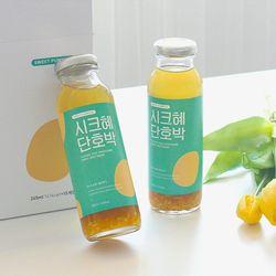 전통방식 그대로 만든 수제 식혜 시크혜단호박 245ml (20병)