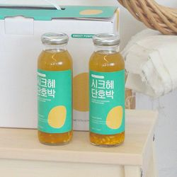전통방식 그대로 만든 수제 식혜 시크혜단호박 245ml (60병)