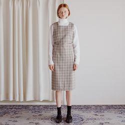 SCAT TWO PIECE DRESS (IVORY)