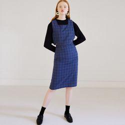 SCAT TWO PIECE DRESS (BLUE)