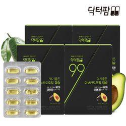 닥터팜 아보카도오일 엑스트라버진 4박스 (240캡슐)