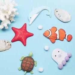 DIY 바다 친구들 (해양생물 입체캔버스)