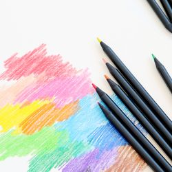 유아색연필 12색