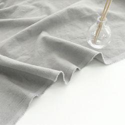 [Fabric] Gainsboro Gray Solid Linen (그레이 린넨)