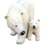 북극곰 페이퍼크래프트 만들기