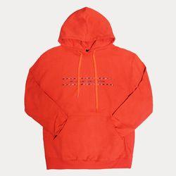 belt hoody orange